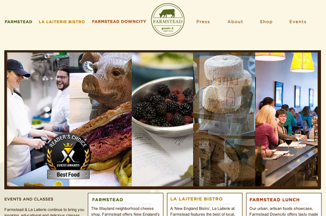 A great web design by Jake & Co., Providence, RI: