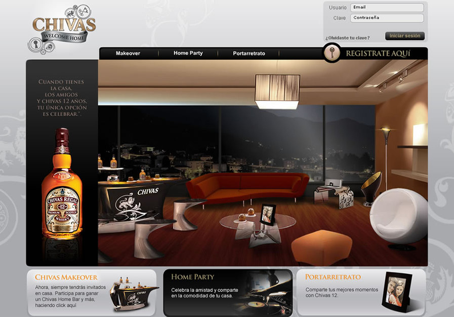 A great web design by Antares Agencia Interactiva, Caracas, Venezuela: