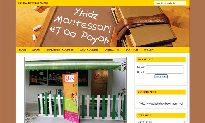 A great web design by Cripperz Prodigy, Singapore, Singapore:
