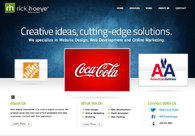 A great web design by Rick Hoeye Interactive, Atlanta, GA:
