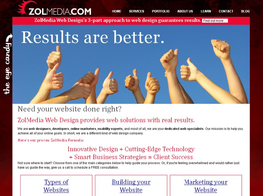 A great web design by Zolmedia Web Design, Coeur dAlene, ID: