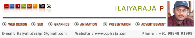 A great web design by freelance web design - cpiraja, Chennai, India: