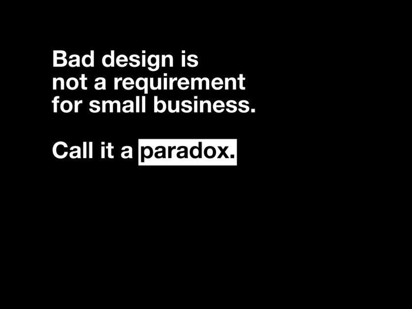 A great web design by paradox., Miami, FL: