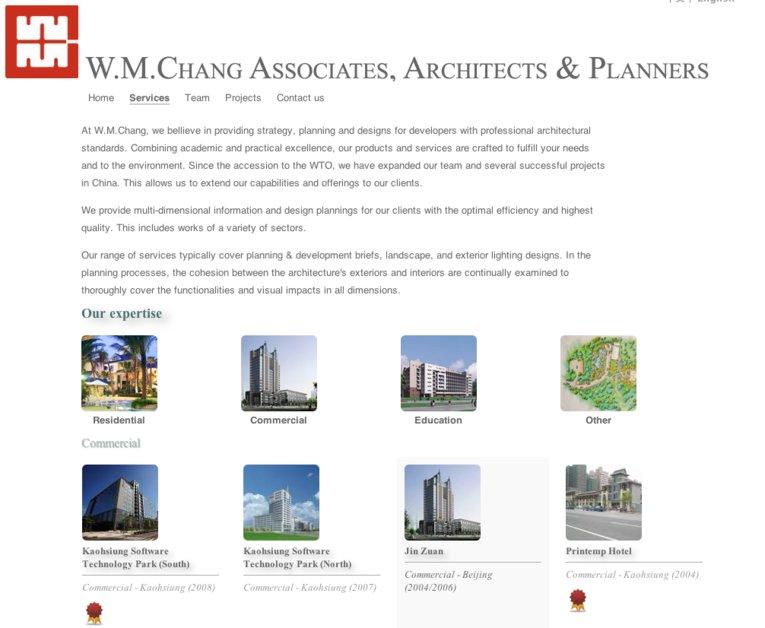 A great web design by Tony Wu, London, United Kingdom: