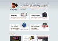 A great web design by buro Taggetig, Hasselt, Belgium: