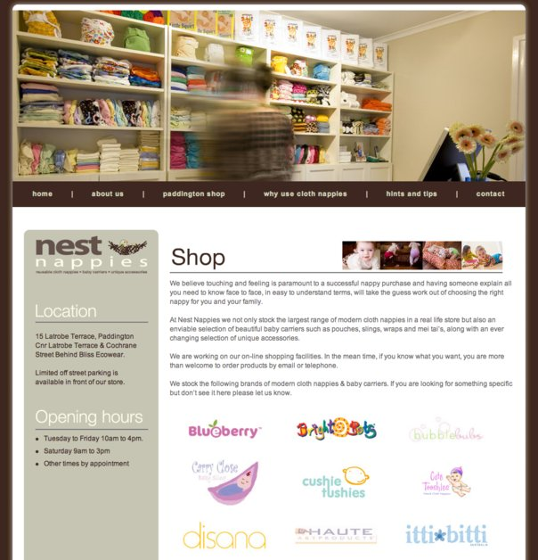 A great web design by Vibe Creative, Brisbane, Australia: