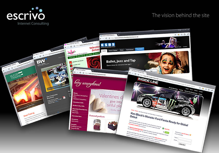 A great web design by Escrivo Internet Consulting, Edinburgh, United Kingdom: