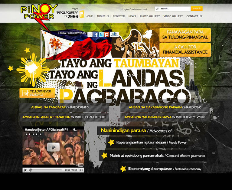A great web design by 168 Media Creative, Manila, Philippines: