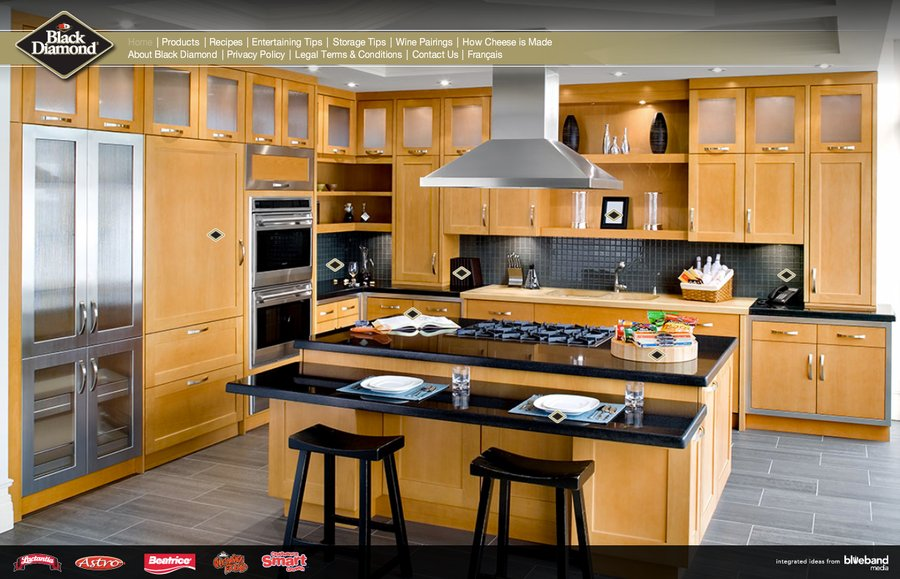 A great web design by BlueBand Media, Toronto, Canada:
