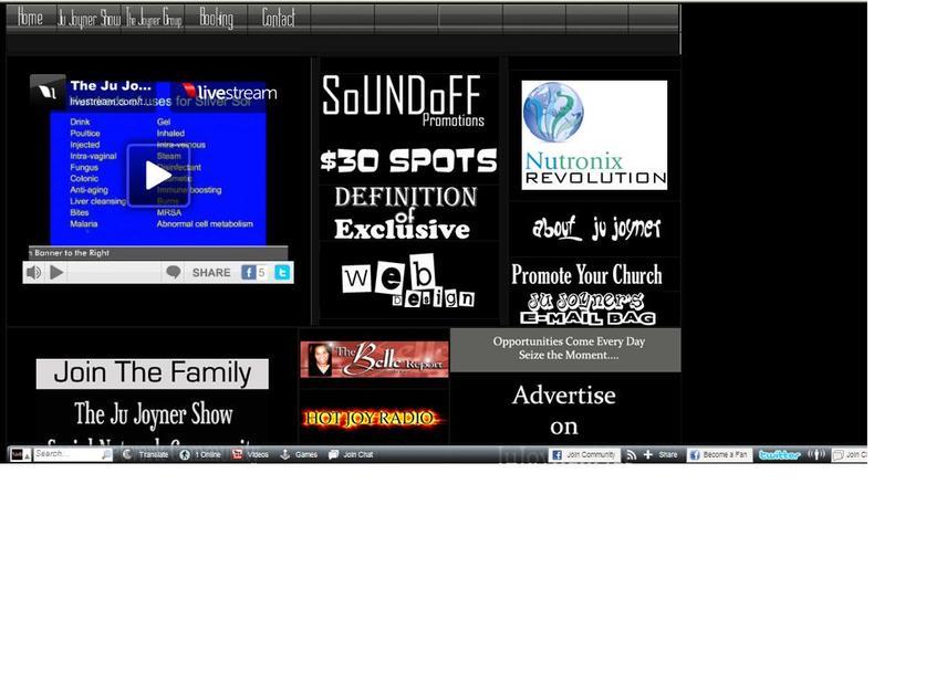 A great web design by The Joyner Group, Washington DC, DC:
