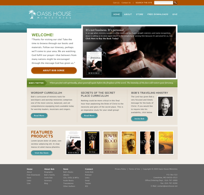 A great web design by Lifetree Creative, Inc., Kansas City, MO: