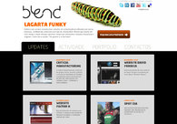 A great web design by Blend, Leiria, Portugal: