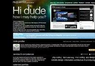 A great web design by Nuguerrilla Design: