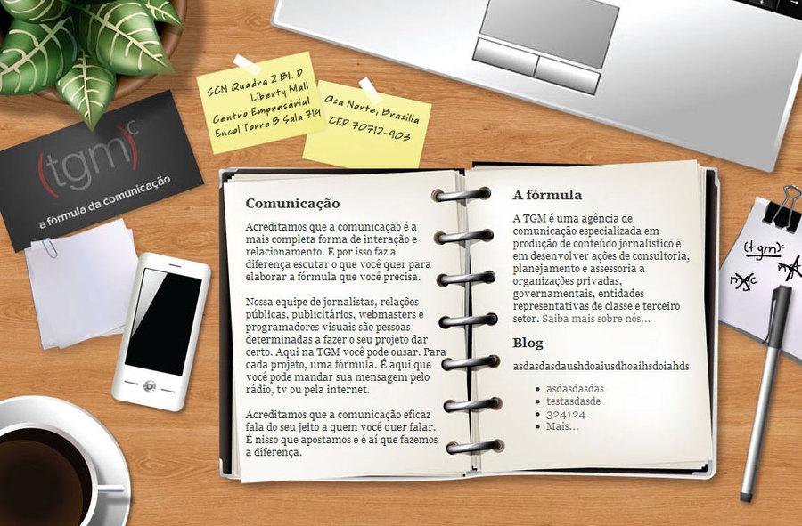 A great web design by Klaus Silveira, Porto Alegre, Brazil: