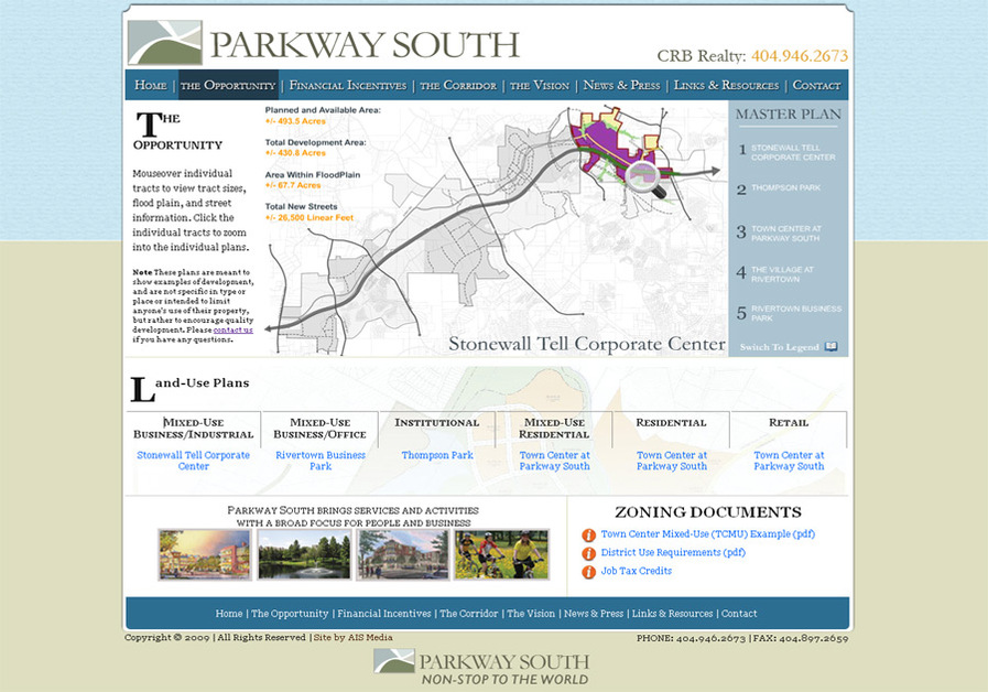 A great web design by AIS Media, Atlanta, GA: