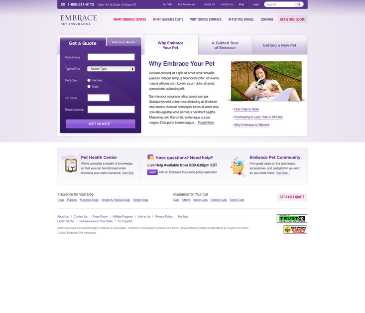 A great web design by Pixelight Creative, Dallas, TX:
