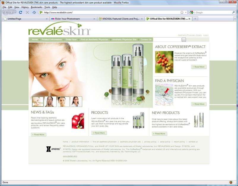 A great web design by InterScape, Inc., Atlanta, GA:
