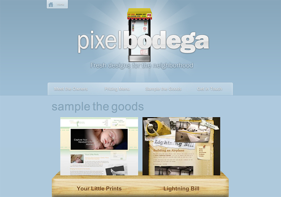 A great web design by Pixel Bodega, Dallas, TX: