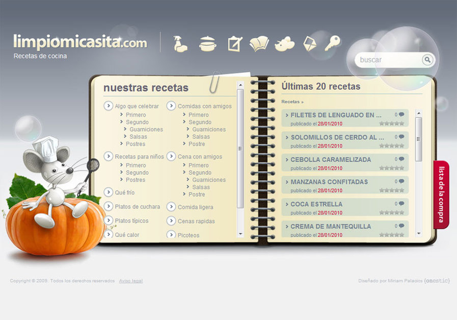 A great web design by onestic, Valencia, Spain: