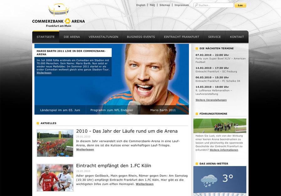 A great web design by YUM GmbH, Frankfurt, Germany: