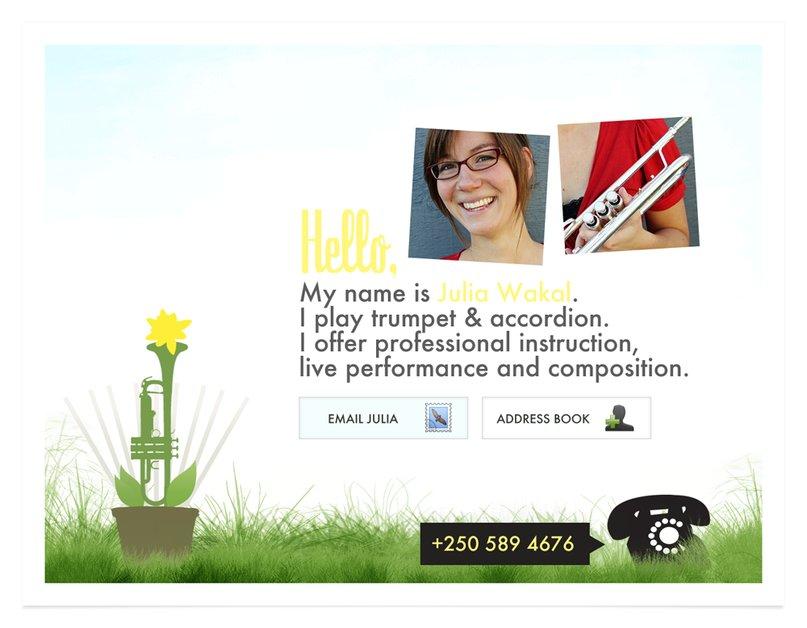 A great web design by Spoon & Milk Creative, Victoria, Canada: