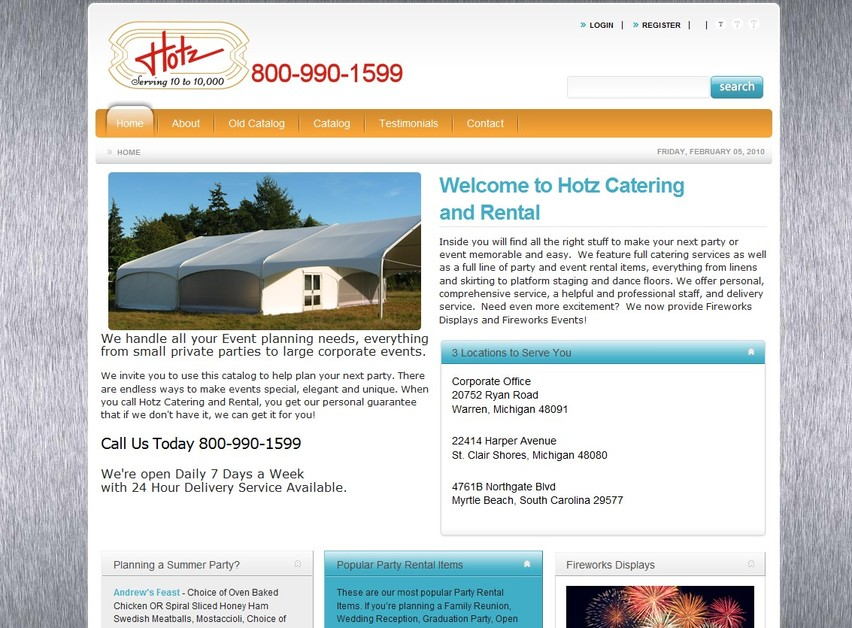 A great web design by JEL Technology LLC, Detroit, MI: