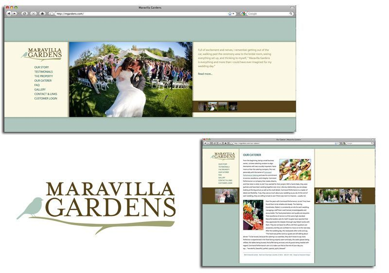A great web design by SharpSeven Design, Portland, OR:
