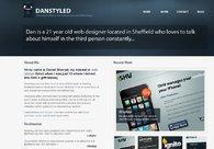 A great web design by Danstyled, Sheffield, United Kingdom: