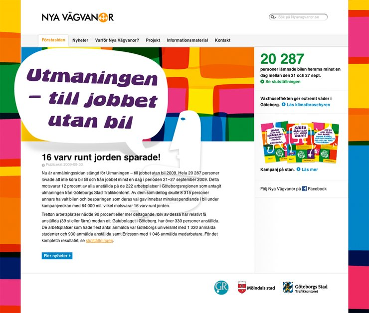 A great web design by Stormen kommunikation, Varberg, Sweden: