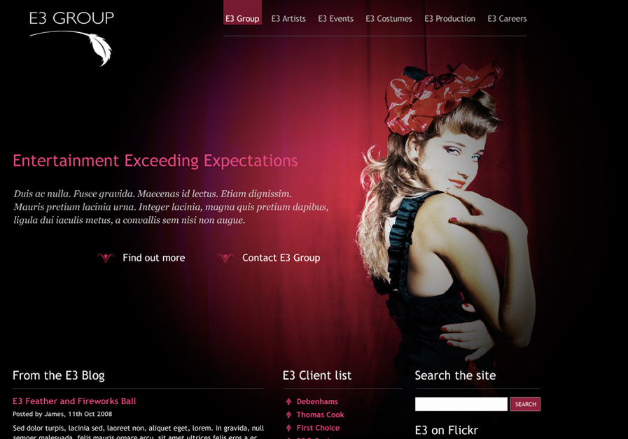 A great web design by Dan Lewis James, Brighton, United Kingdom: