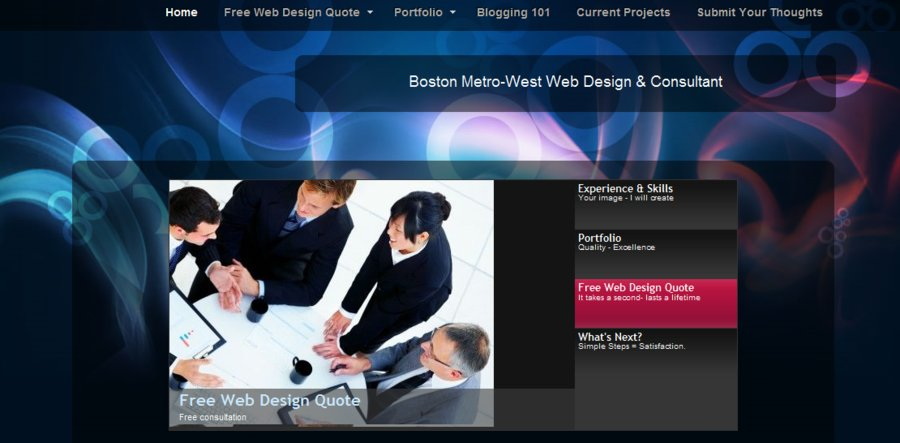 A great web design by Boston Metro-West Web Design, Boston, MA: