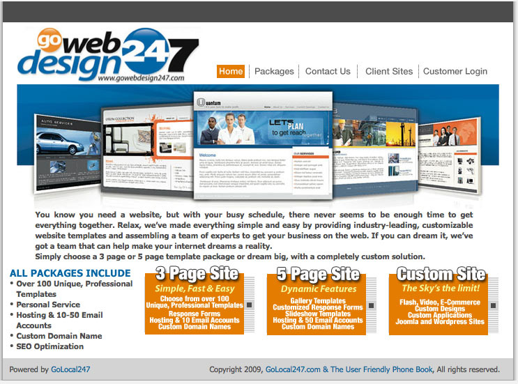 A great web design by Go Web Design 247, The Woodlands, TX: