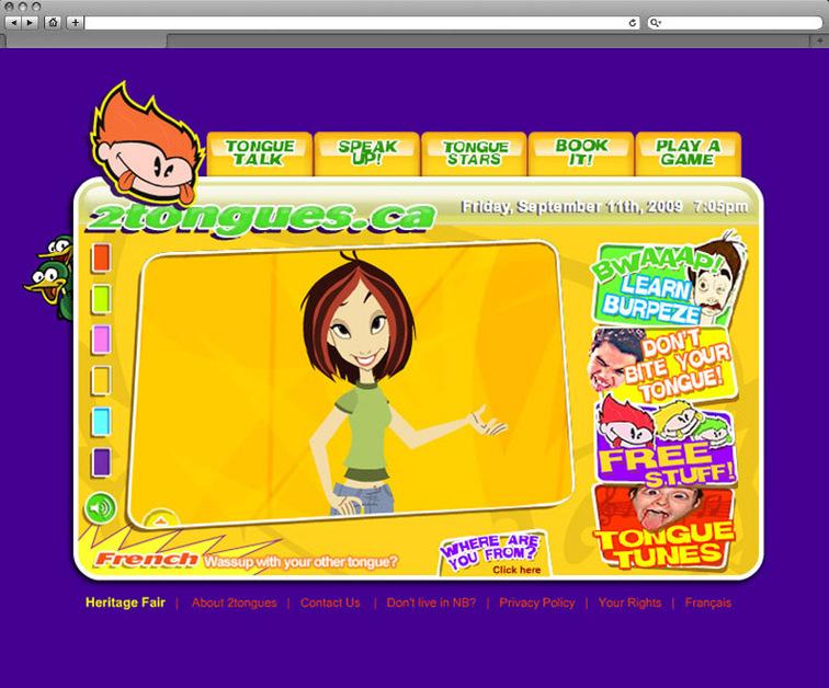 A great web design by Razor Creative, Moncton, Canada: