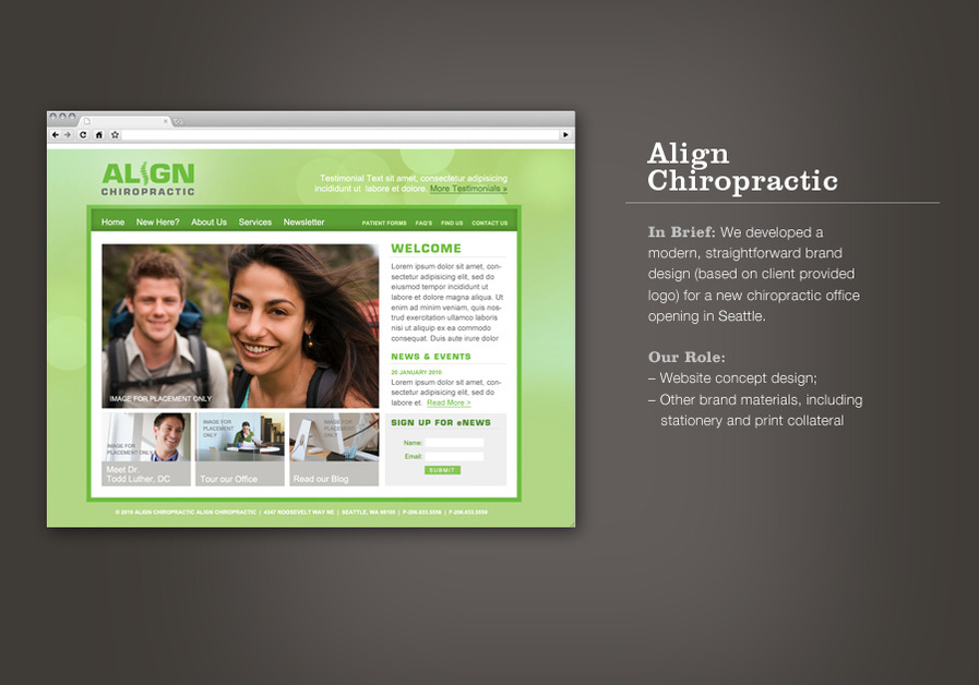 A great web design by merissaAldrich, Duluth, MN: