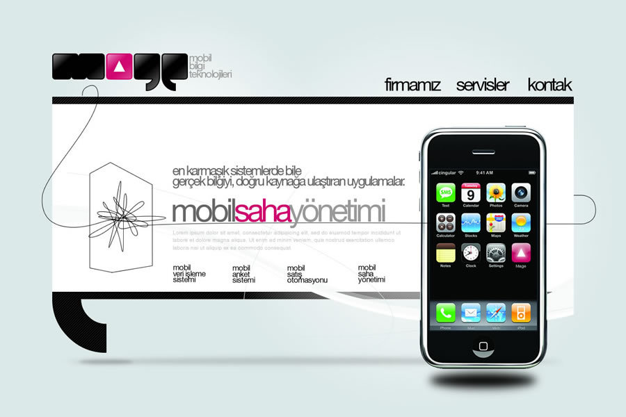 A great web design by One New Media, Istanbul, Turkey:
