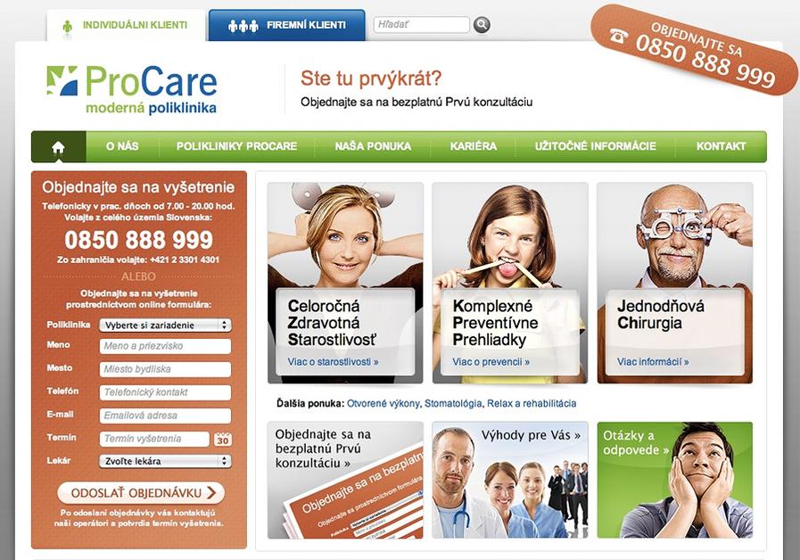 A great web design by Krea.com, Nitra, Slovakia: