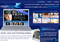 A great web design by MoonShark, Blackpool, United Kingdom: