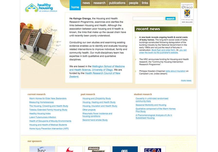 A great web design by Chopchop Design, Dunedin, New Zealand: