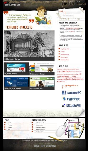 A great web design by Impresario One, Manila, Philippines: