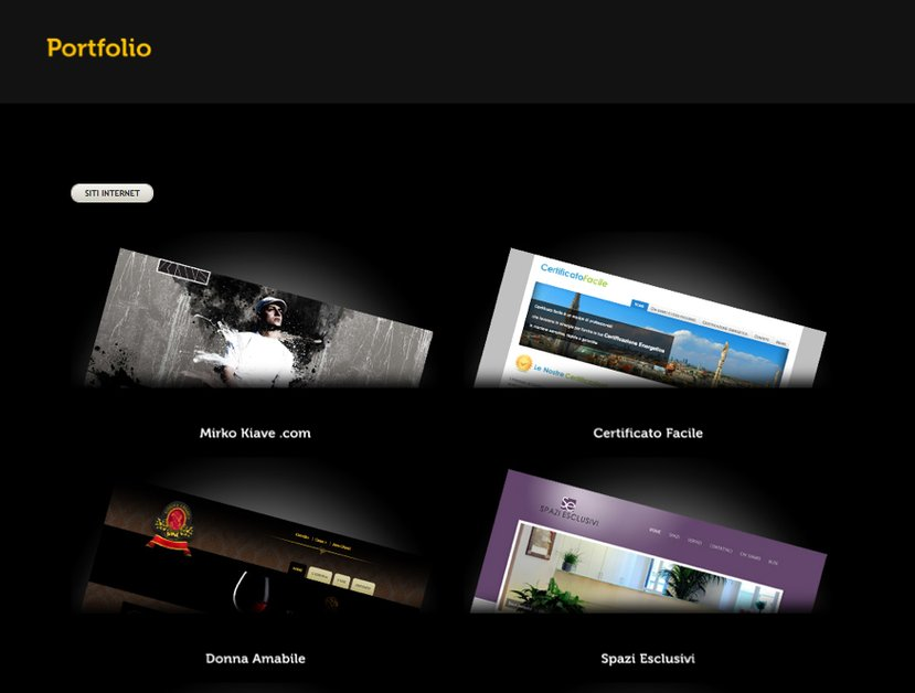 A great web design by Weps Design, Bergamo, Italy: