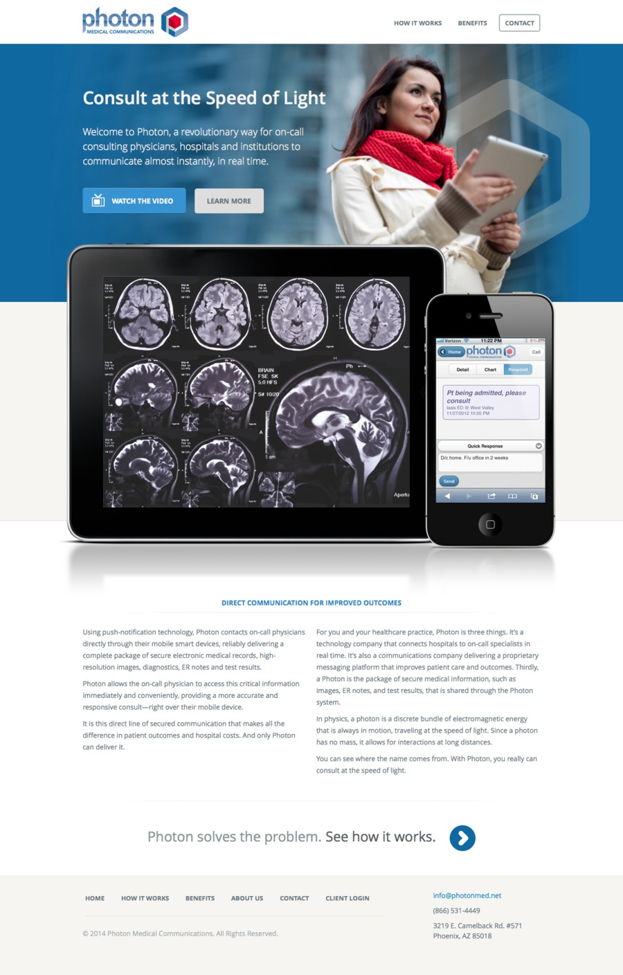 A great web design by Okay Plus, Burlington, VT: Website, Marketing Website , Healthcare, Wordpress