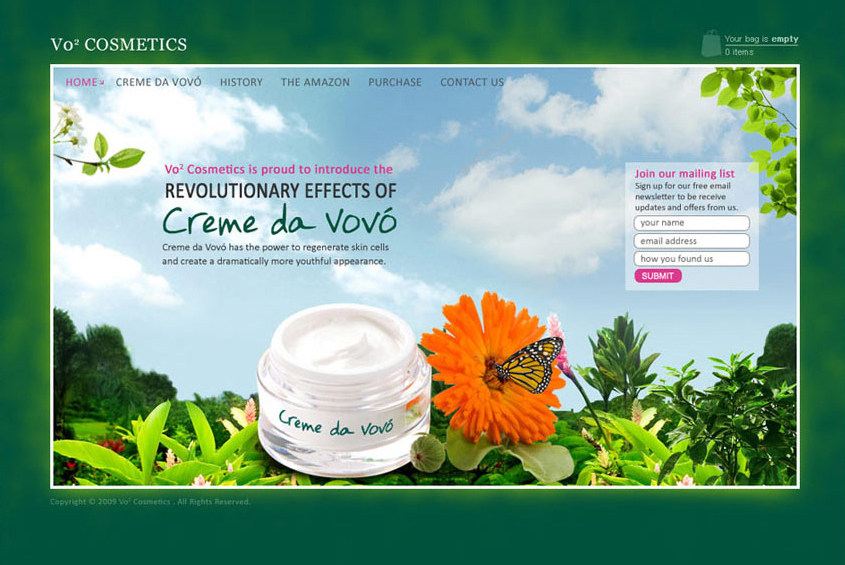 A great web design by Manprit Kalsi, New Delhi, India: