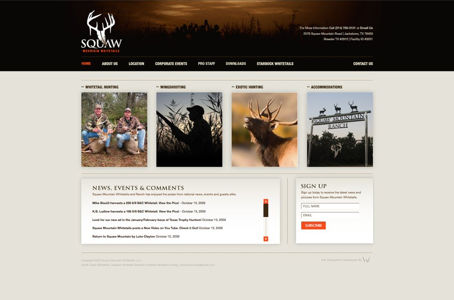 A great web design by WilsonJamesCreative, Dallas, TX: