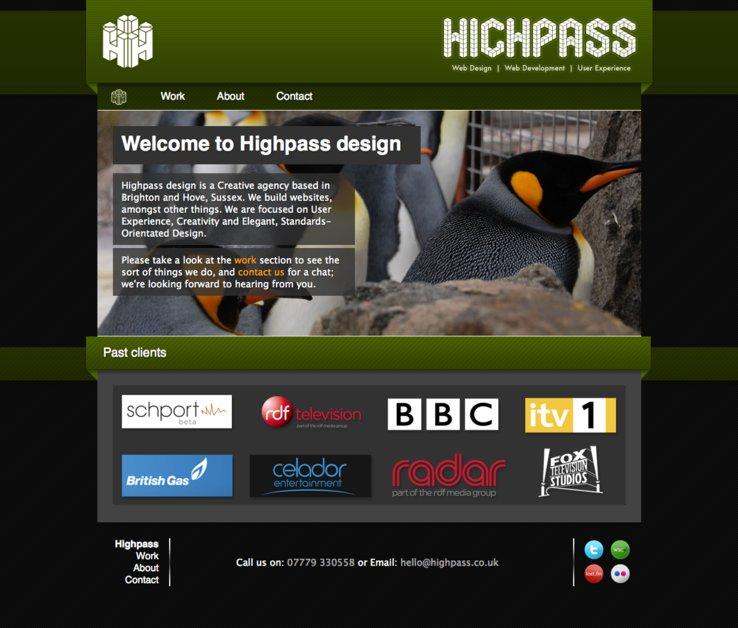 A great web design by Highpass Design, Brighton, United Kingdom: