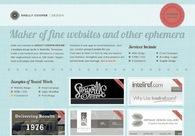 A great web design by Shelly Cooper Design, Nashville, TN: