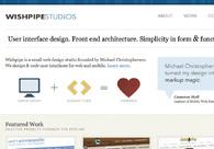 A great web design by Wishpipe Studios, Minneapolis, MN: