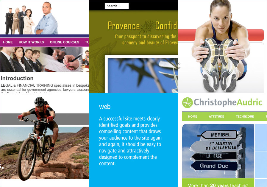 A great web design by theassociates, Marseille, France: