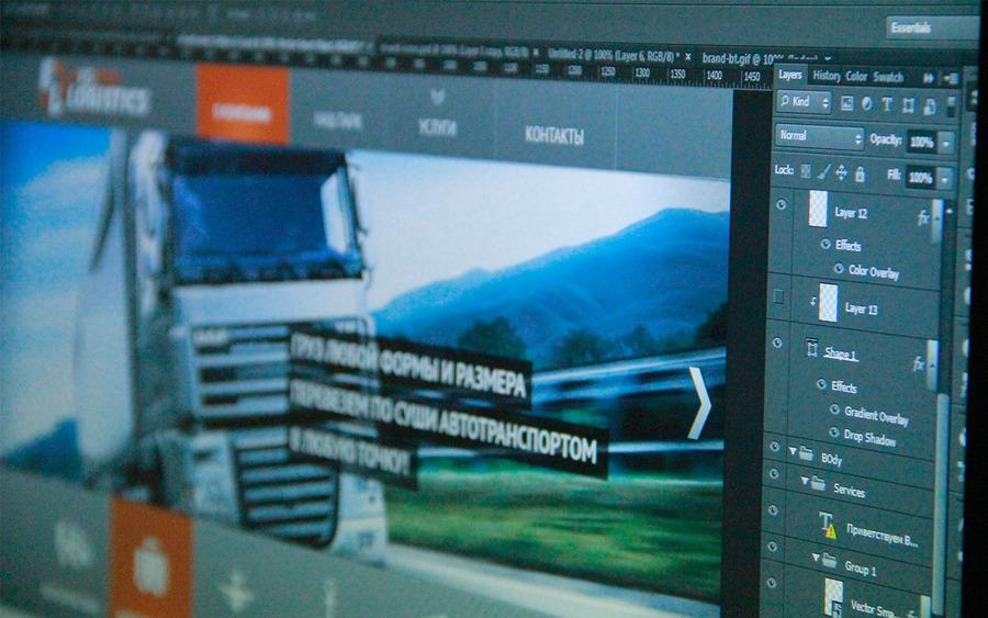 A great web design by Voronin design studio, Lviv, Ukraine: