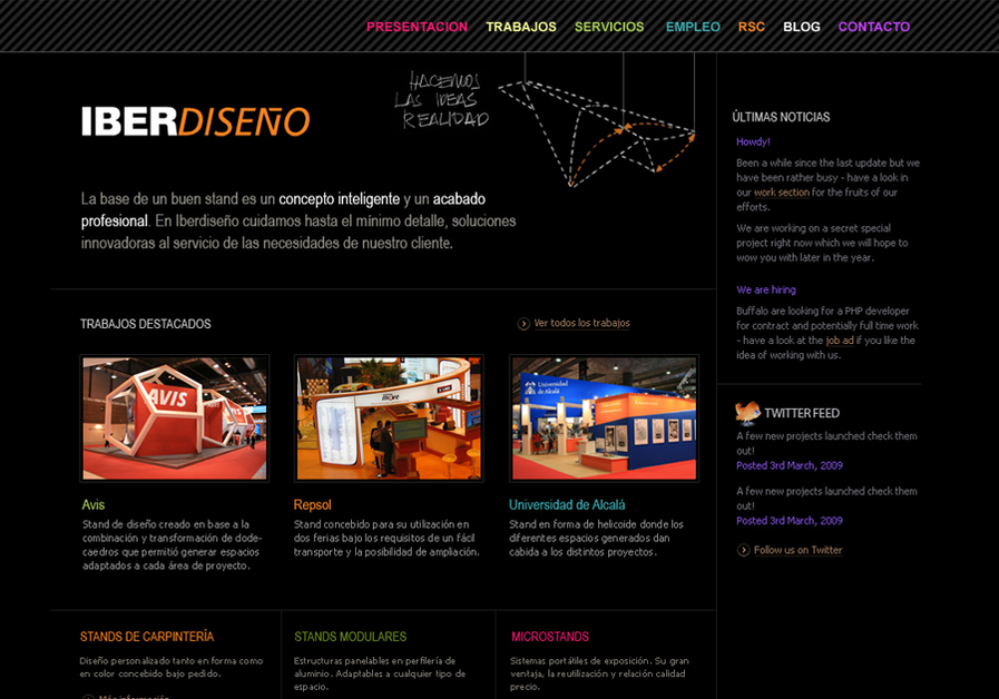 A great web design by Se ha ido ya mama, Madrid, Spain: