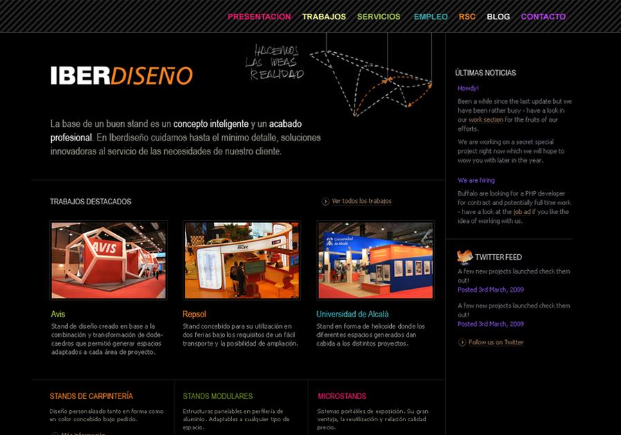 A great web design by Se ha ido ya mama, Madrid, Spain: